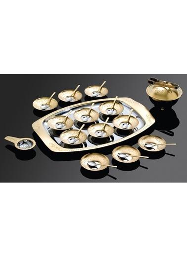 Antares Altın 30 Parça Çay Seti-Narin